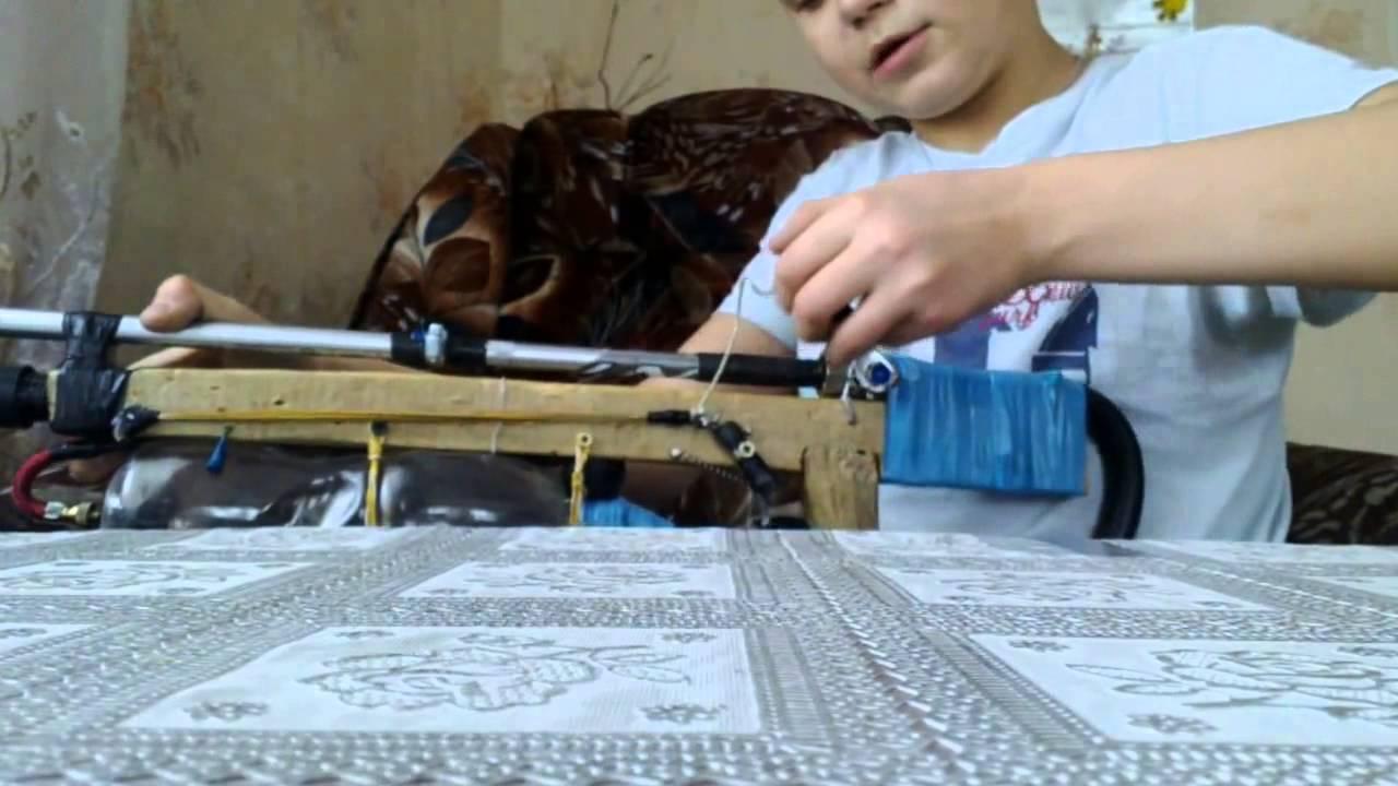 Как сделать пневматическую винтовку видео фото 525