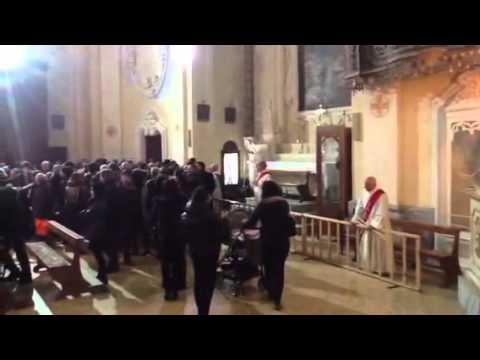 Il culto di san biagio a nard la benedizione della gola - Porta di mare cronaca nardo ...