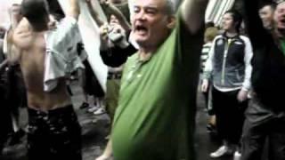 Shamrock Rovers fans - Half time v Juventus in Modena