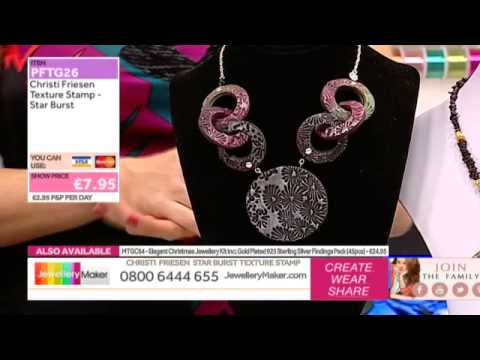 How to Make Polymer Clay Jewellery - JewelleryMaker LIVE AM 18/12/14
