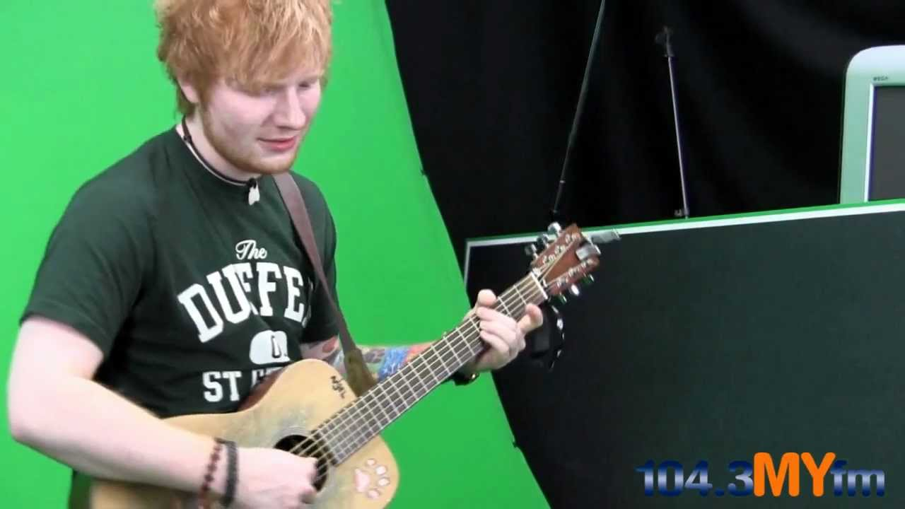 """Download Ed Sheeran- """"Lego House"""" Live Behind The Scenes At 104.3MYfm"""