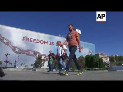 Kiev residents reflect on Russia's military drills