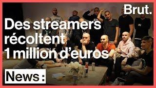 Quand des streamers récoltent 1 million d'euros pour Médecins Sans Frontières