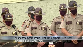 Minnesota State Patrol Honors the late Corporal Ted Foss
