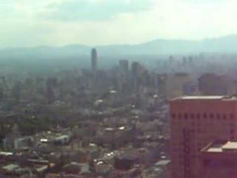 Mexico City from Torre Latinoamerica