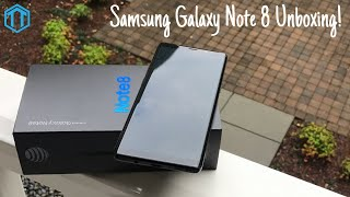 Samsung Galaxy Note 8 Unboxing!