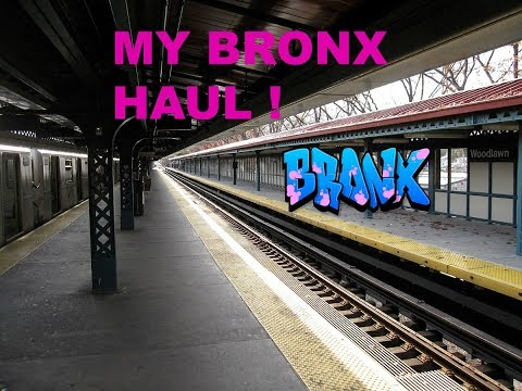 MY BRONX HAUL /SHOPPING!!