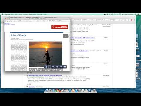How to find peer reviewed research - fast and easy