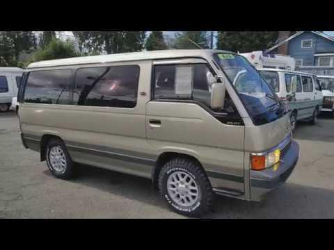 For Sale Nissan Caravan Homy Turbo Diesel At Awd 1990 Krme24