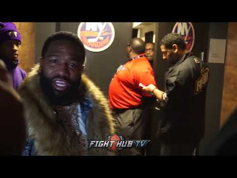 """ADRIEN BRONER HEATED! """"I SOLD THIS MOTHAF*** OUT, NOW THEY ACT LIKE THAT WHEN I PUT A*** IN SEATS!"""""""
