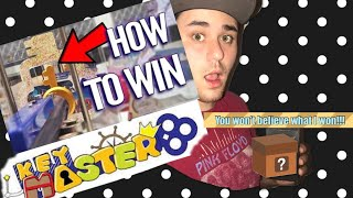 arcade fun keymaster arcade win on first try big prize