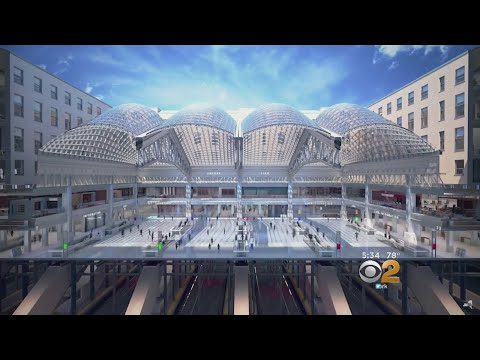 CBS2 Exclusive Look Inside Moynihan Station Project