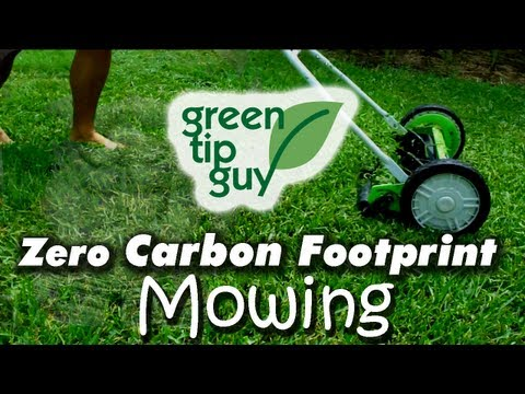 Use a Push Mower to Reduce Your Carbon Footprint