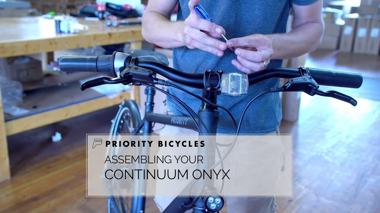 Assembly Instructions – Priority Bicycles