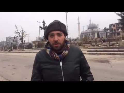 Maria Finoshina RT corresponder in Damascus Old City
