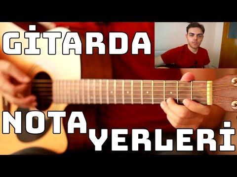 GİTARDA NOTA YERLERİ - Başlangıç Seviye Gitar Dersi (Yeni) Ahmet Selim Büyüksoy