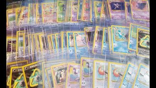 Going through my old WOTC Pokemon cards!