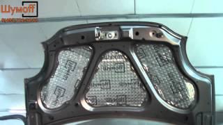 видео Схема монтажа шумоизоляции авто