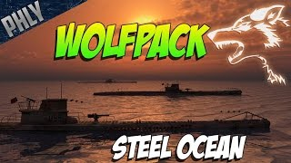 WOLFPACK U-BOAT SUBMARINE Gameplay! Steel Ocean Gameplay!