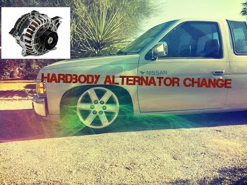 Nissan Hardbody Alternator Swap (YRS 90-97)
