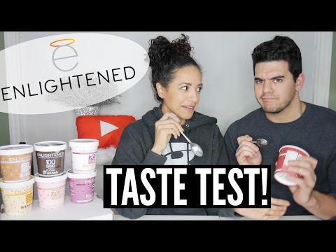 7 NEW FLAVORS: ENLIGHTENED ICE CREAM TASTE TEST    How do They REALLY Taste?