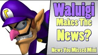 Waluigi Gets Reported on by THE WASHINGTON POST?!