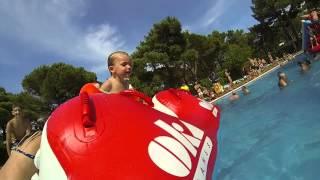 piscine camping Neptuno Pals. Florian et Meline