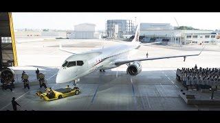 Mitsubishi Aircraft : le MRJ pointe le bout de son nez