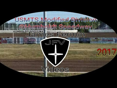 USMTS Modifieds #16, Four Wide Salute, Humboldt Speedway, 2017