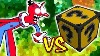 PENNYWISE PALHAÇO VS. LUCKY BLOCK TEXTMONSTER (MINECRAFT LUCKY BLOCK CHALLENGE CLOWN)