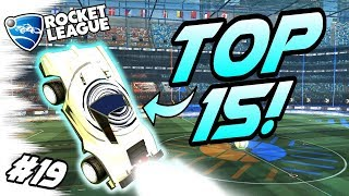 Rocket League BEST GOALS/FREESTYLES #19! - TOP 15 Aerial Dribbles, Funny Moments (Community Montage)