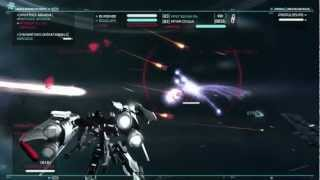 Strike Suit Zero - Gameplay (Mecha) - mission 3