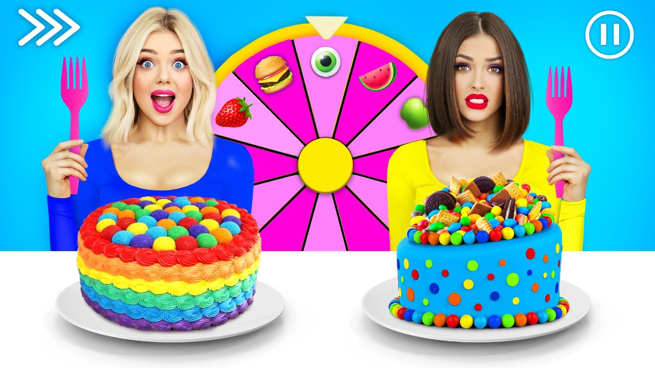 Download Fast, Medium or Slow Cake Decorating Challenge   Try to Decorate Desserts in 1 Second by RATATA