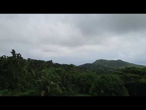 Hurricane Irma. Nevis. 2pm Thursday 7th September 2017.
