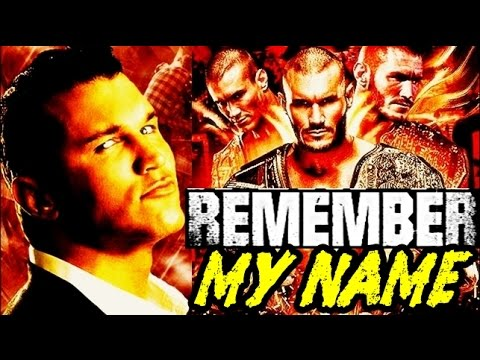 My name is randy orton