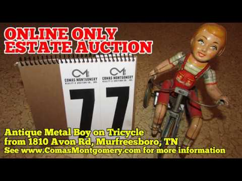ONLINE AUCTION ending 11/12/17 Antique Wind-Up Toy - from Murfreesboro, TN