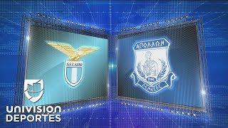 Lazio 2-1 Apollon - GOLES Y RESUMEN - Grupo H Europa League