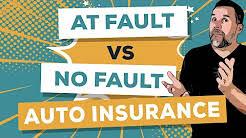 At Fault vs No Fault Auto Insurance
