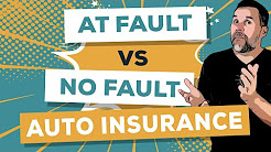 At Fault vs No Fault Auto Insurance