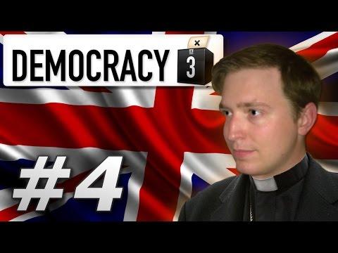 Democracy 3   Holy United Kingdom - Year 4