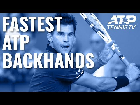 Fastest EVER ATP Backhands ⚡️
