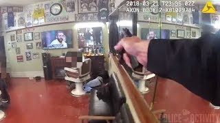San Francisco Police Bodycam Video Of Fatal Barbershop Shootout