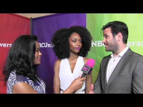 Yaya DaCosta and Colin Donnell @ NBC Universal Press Tour  Black Hollywood Live