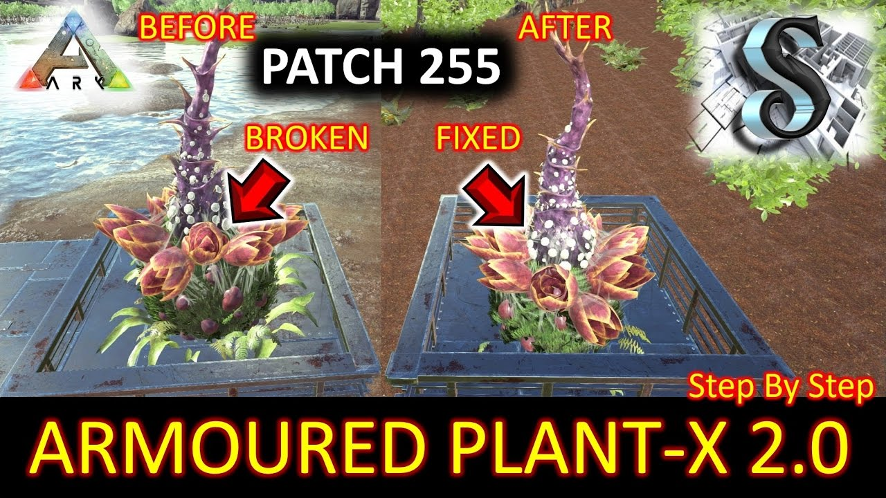 Ark survival evolved post patch 255 armoured species for Plant x ark aberration