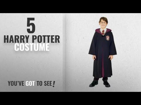 Top 10 Harry Potter Costume [2018]: Child Harry Potter Deluxe Costume Medium