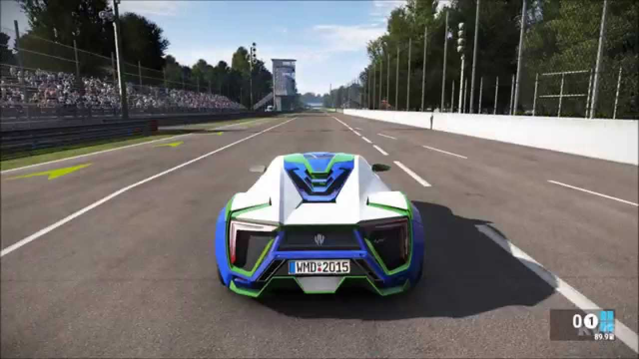 Wmotors Lykan Hypersport >> W Motors Lykan Hypersport - Project CARS - Test Drive Gameplay (PC HD) [1080p] - YouTube