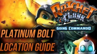Ratchet and Clank 2: Going Commando - Platinum Bolt Locations Guide