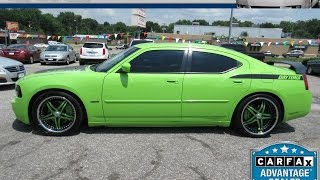 2007 Sublime Green, Dodge Charger Daytona! GoPro Trailer