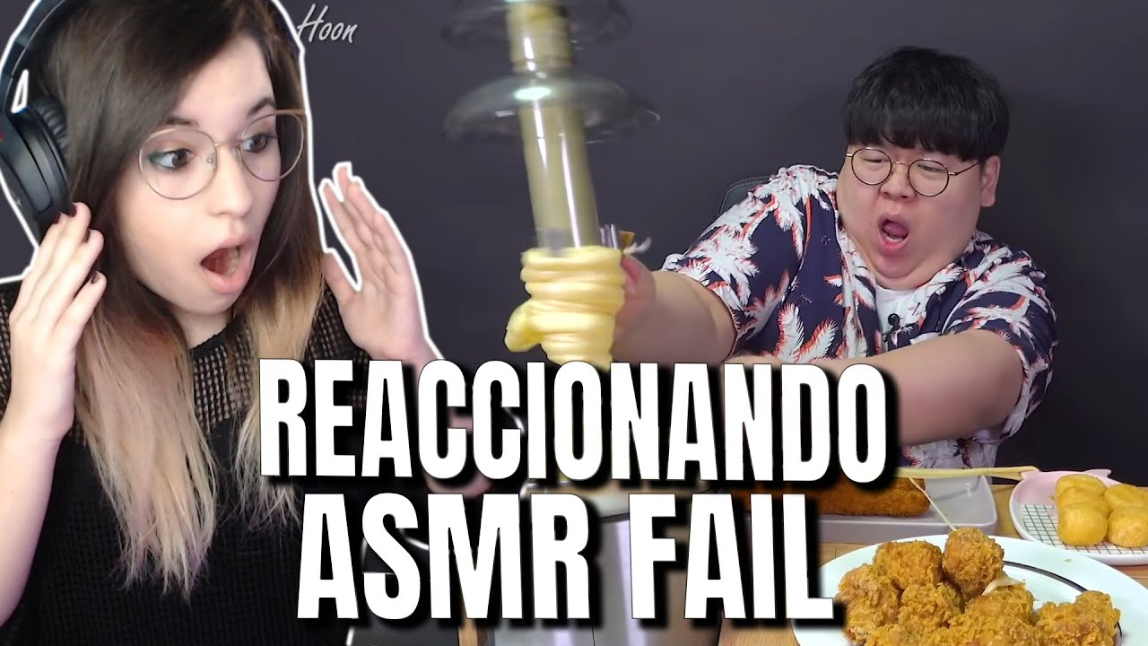 Download REACCIONANDO a ASMR FAIL de COMIDA! 🍲 [Fondue cheddar] 😧 | Kirsa Moonlight Reaccionando Español