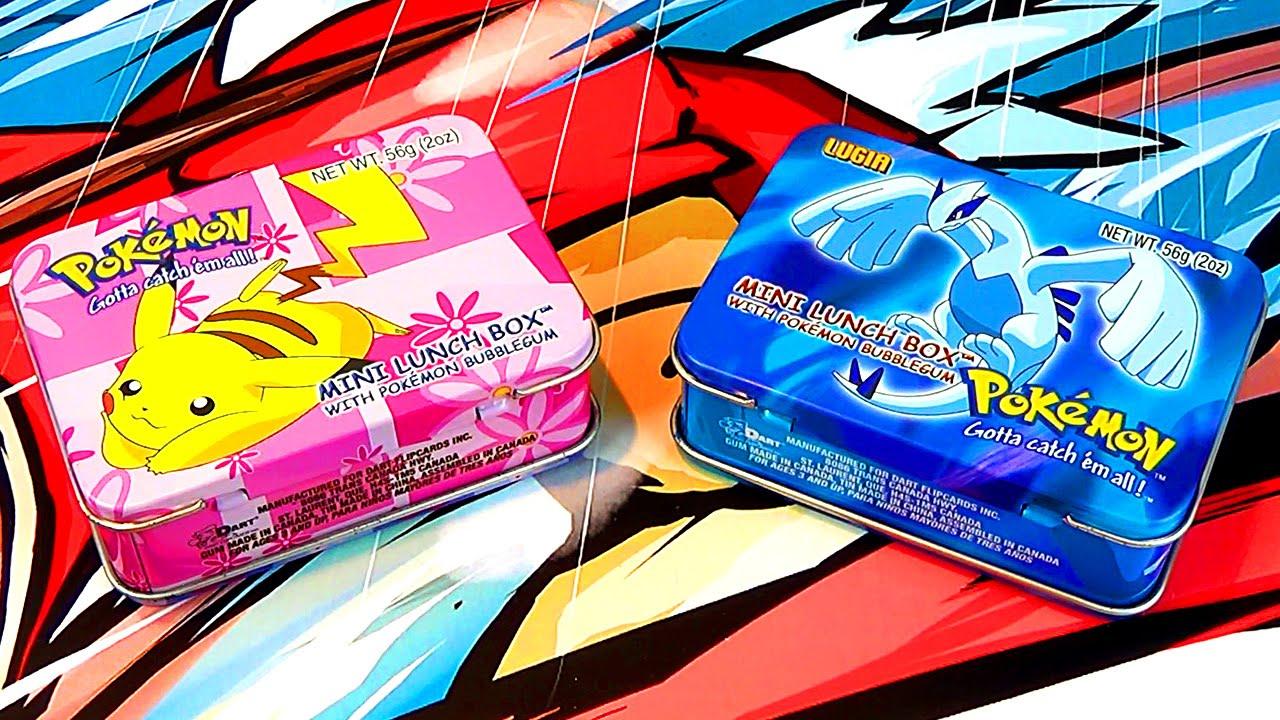 Ouverture de 2 Mini Lunch Box Pokémon - Pikachu & Lugia + Nouveauté sur ma  Chaine !
